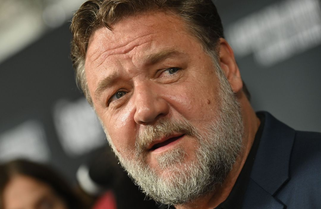 El actor Russell Crowe