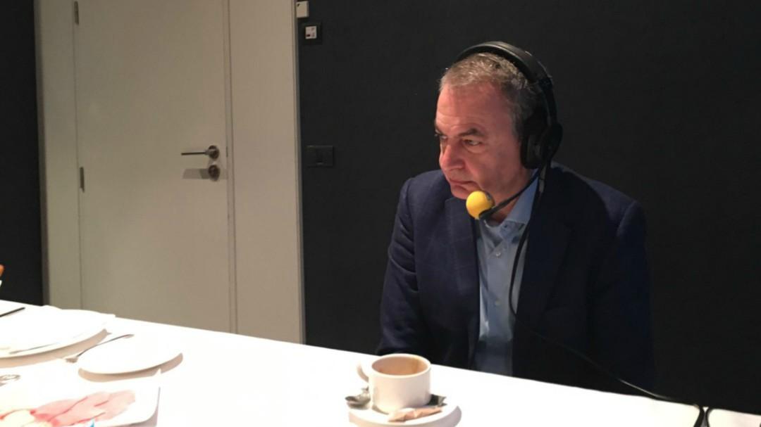 """Zapatero, sobre Cataluña: """"Es necesario un diálogo donde se puedan plantear todas las alternativas"""""""