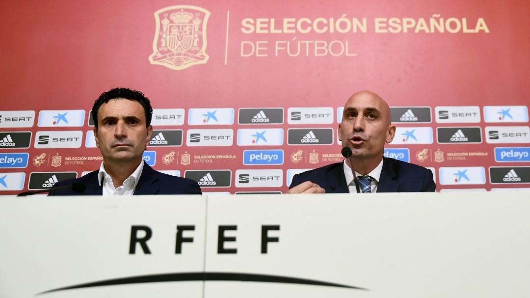 Luis Enrique vuelve a la selección española para sustituir a Robert Moreno