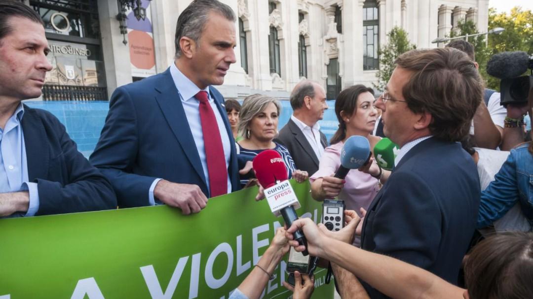 Vox se desmarca del pacto municipal contra el machismo en Madrid