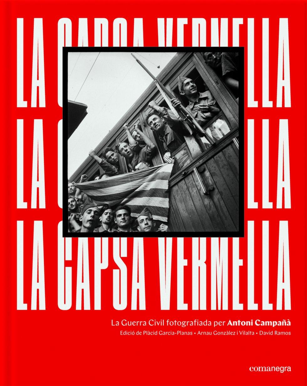 La portada de La Capsa Vermella, el libro que recoge las imágenes inéditas de Antoni Campañà
