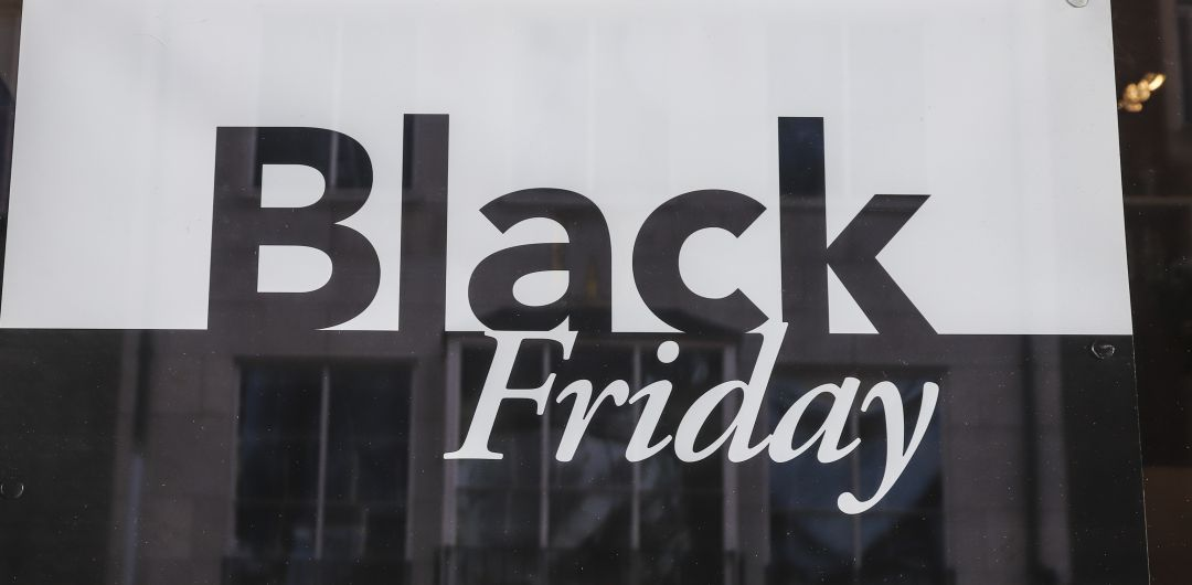 Cartel del Black Friday