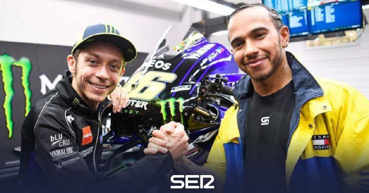 Rossi y Hamilton se intercambiarán los papeles para un duelo este lunes en Cheste