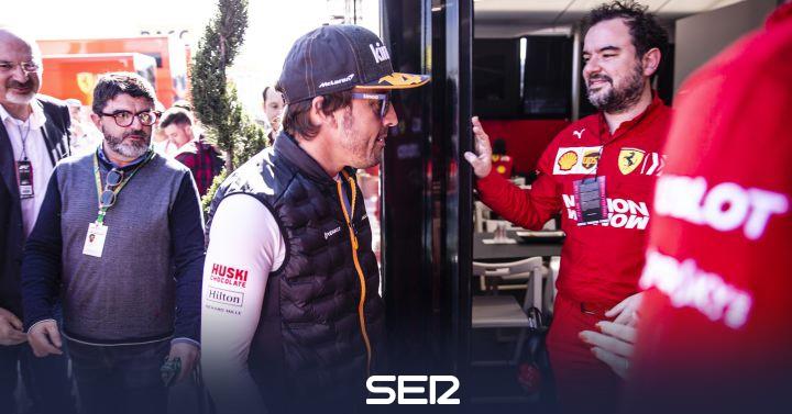 Ferrari le cierra la puerta a Fernando Alonso