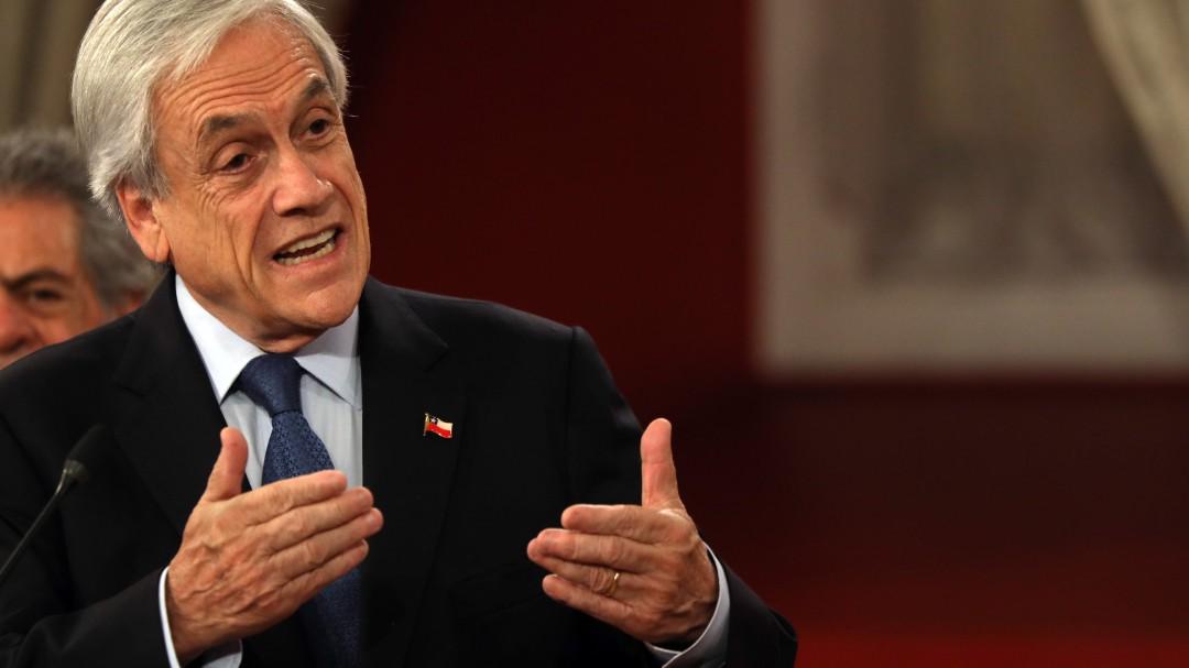 """Sebastián Piñera: """"No vi venir la violencia, es algo que nadie anticipó"""""""