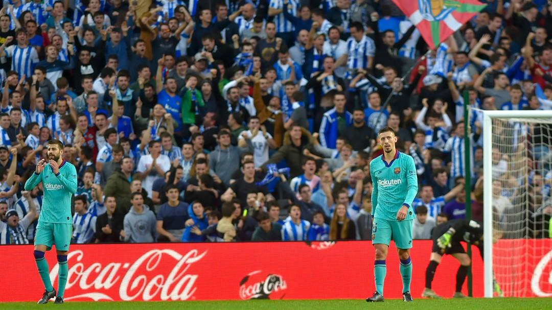 El Barcelona no pasa del empate contra la Real Sociedad antes del Clásico