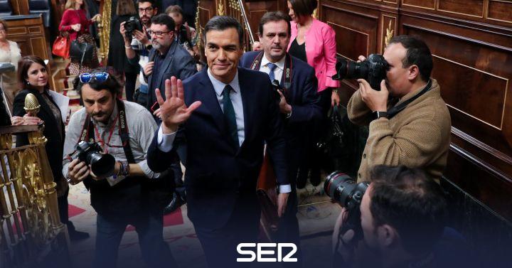 Sánchez no logra mayoría absoluta y su investidura se pospone hasta el martes