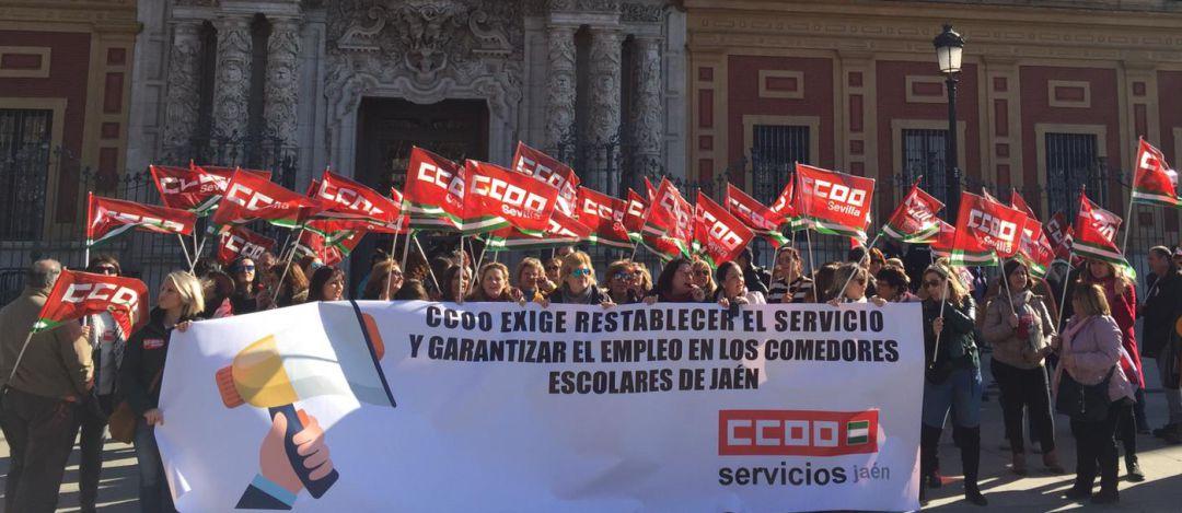 El problema de los comedores llega a Sevilla sin solución ...
