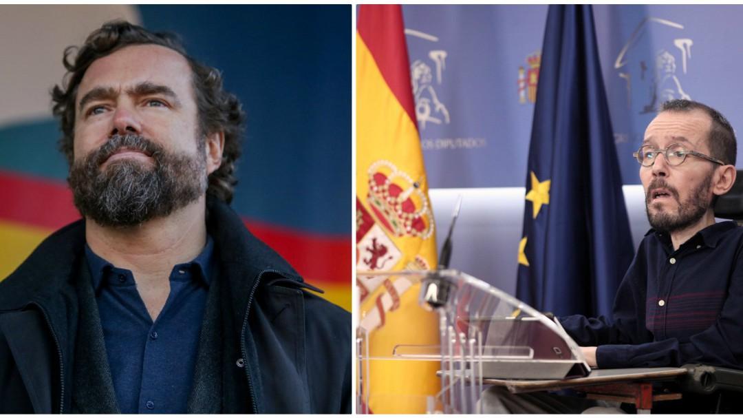 """Espinosa de los Monteros le dice a Echenique que pasa miedo cuando se encuentra """"especímenes"""" de Podemos"""