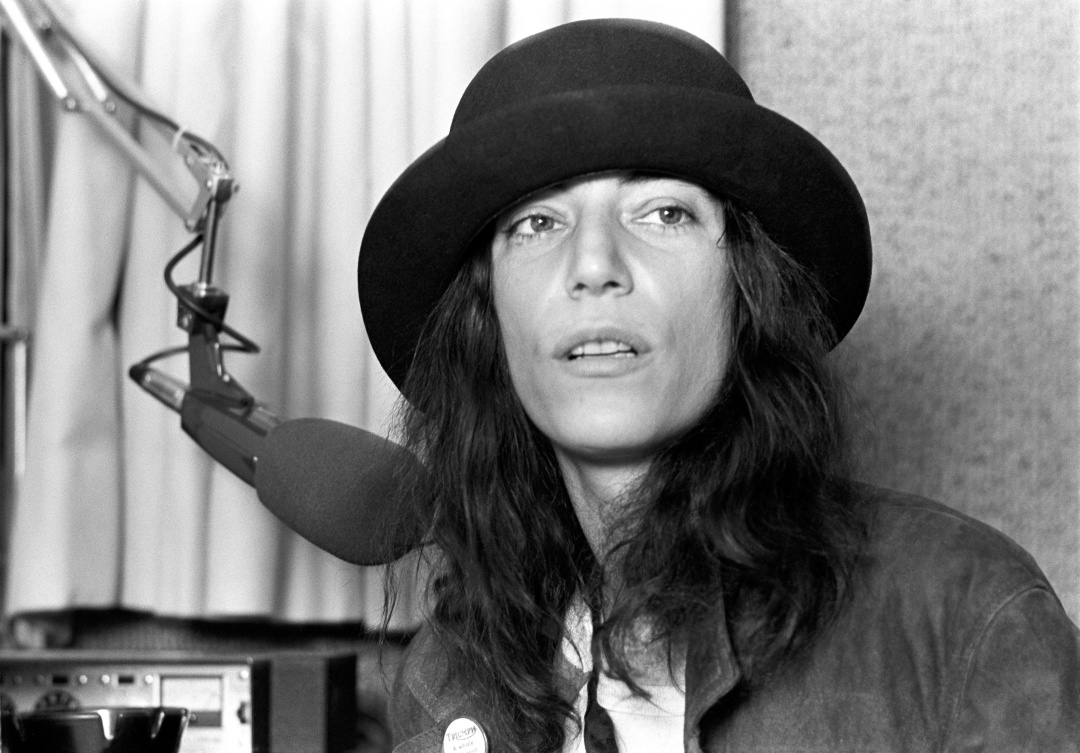 Patti Smith es una fotografía de 1978