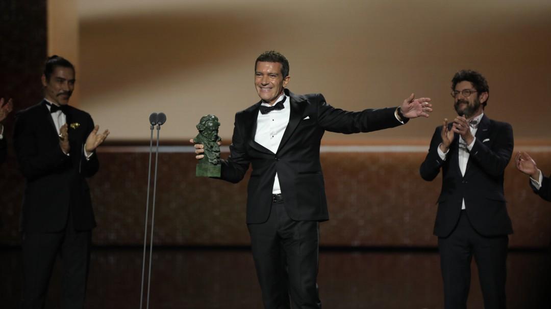 """Antonio Banderas: """"No le he dedicado el Goya a Málaga y quería dedicárselo"""""""