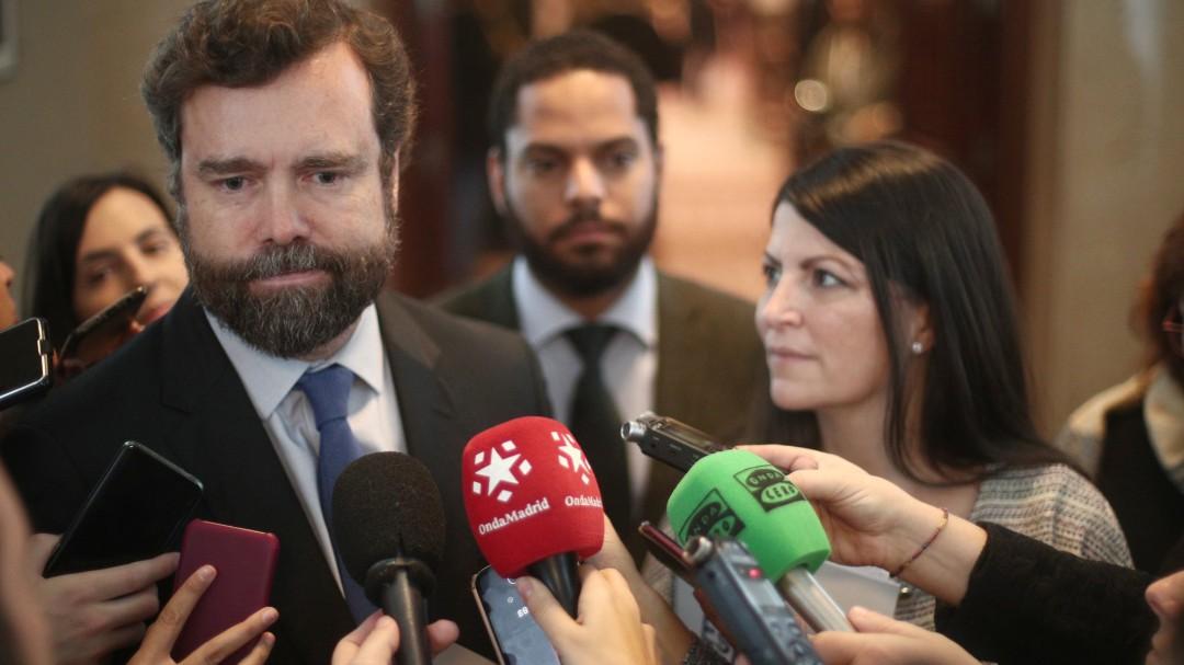 Espinosa de los Monteros admite que cobró en campaña de Vox de 2014, financiada por el exilio iraní