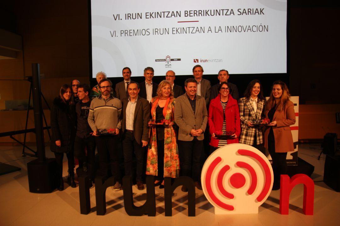 Galardonados en los Premios Irun Ekintzan
