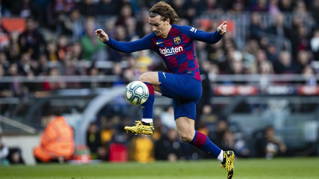 Los goles de Sergi Roberto y Griezmann dejan los tres puntos en el Camp Nou