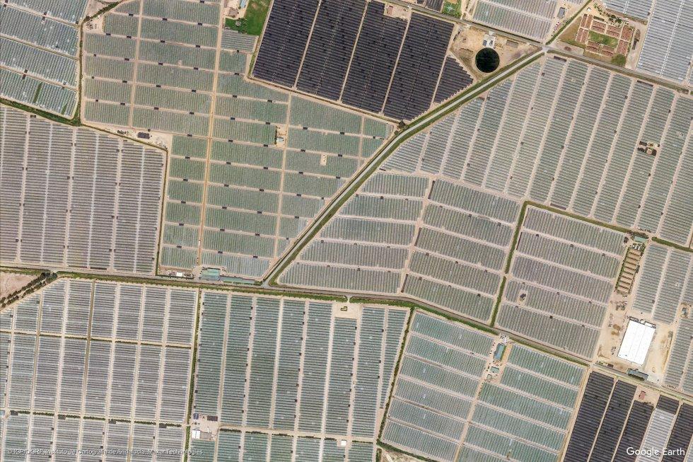Campos de cultivo en Almonte (Huelva).