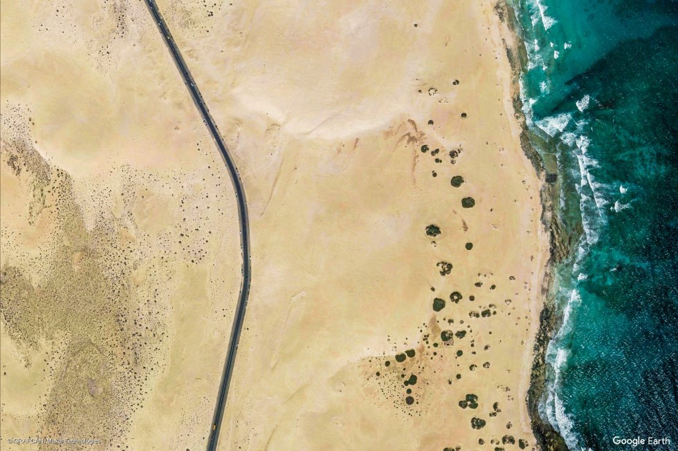 Playa de La Oliva (Fuerteventura, Las Palmas).