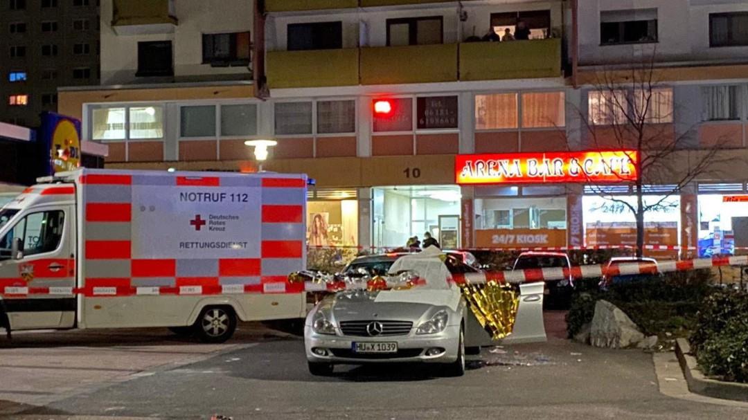 Ocho muertos y cinco heridos tras dos tiroteos en Hanau, cerca de Frankfurt