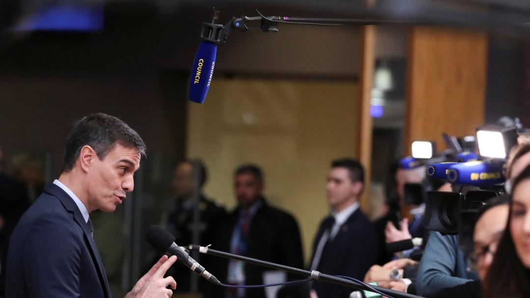 """Pedro Sánchez: """"Cuanto mayor sea el volumen presupuestario, mejor"""""""