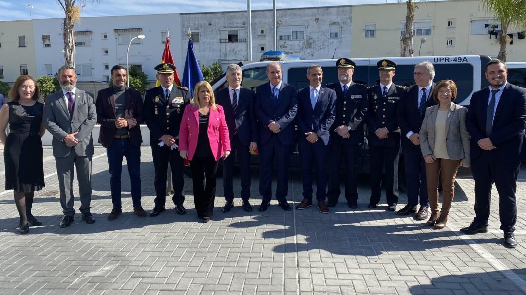 Fernando Grande-Marlaska inaugura la comisaría de la Policía Nacional de Jerez