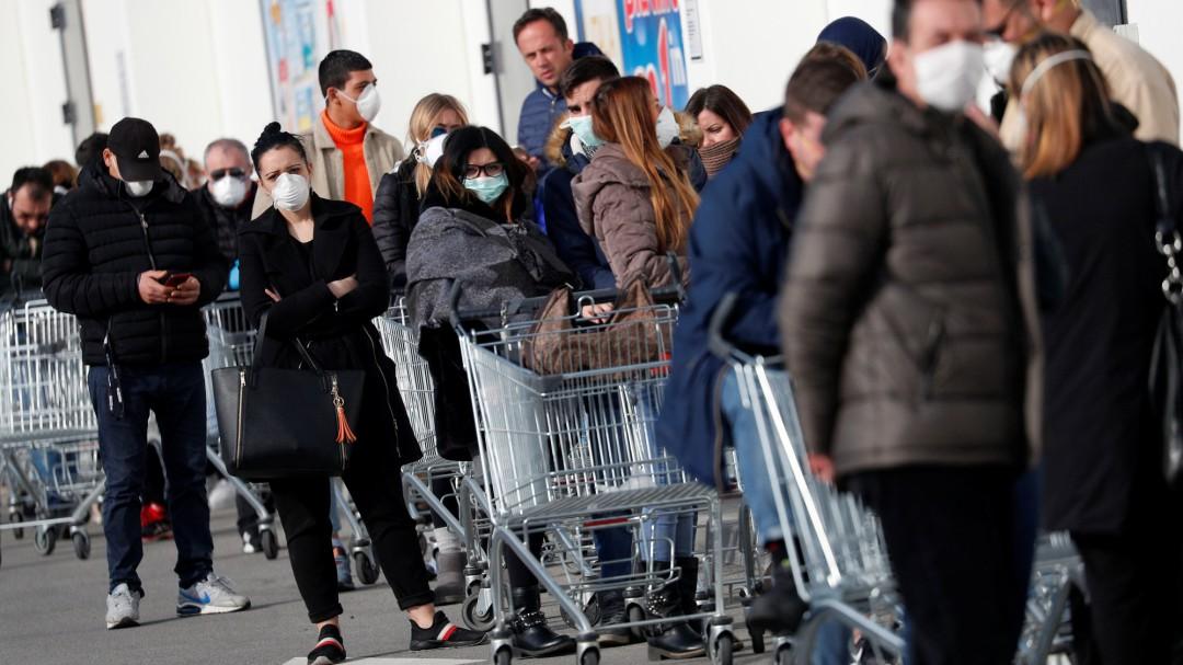 El brote de coronavirus en Italia deja siete muertos y más de 220 contagiados