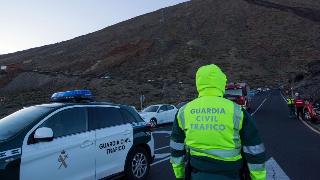 La Guardia Civil busca al hombre que grabó la agonía de una víctima de accidente de tráfico