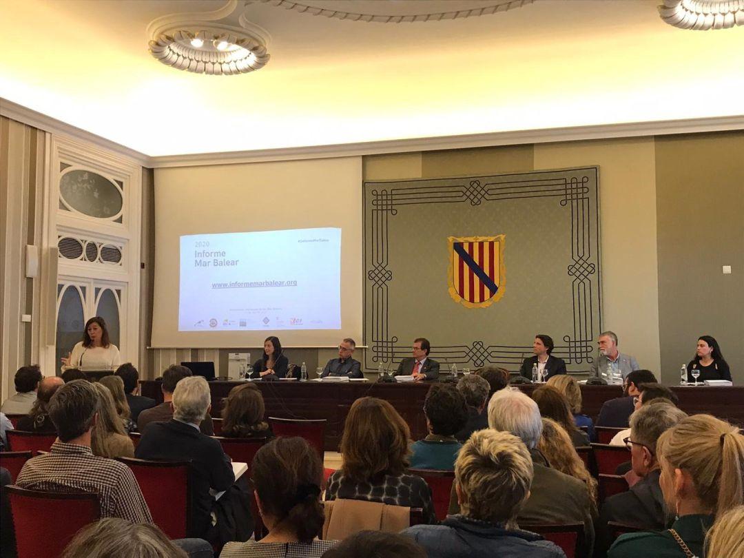 Presentación del 'Informe Mar Balear'