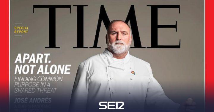 El chef José Andrés, protagonista de la revista 'Time' por su labor durante la crisis del coronavirus