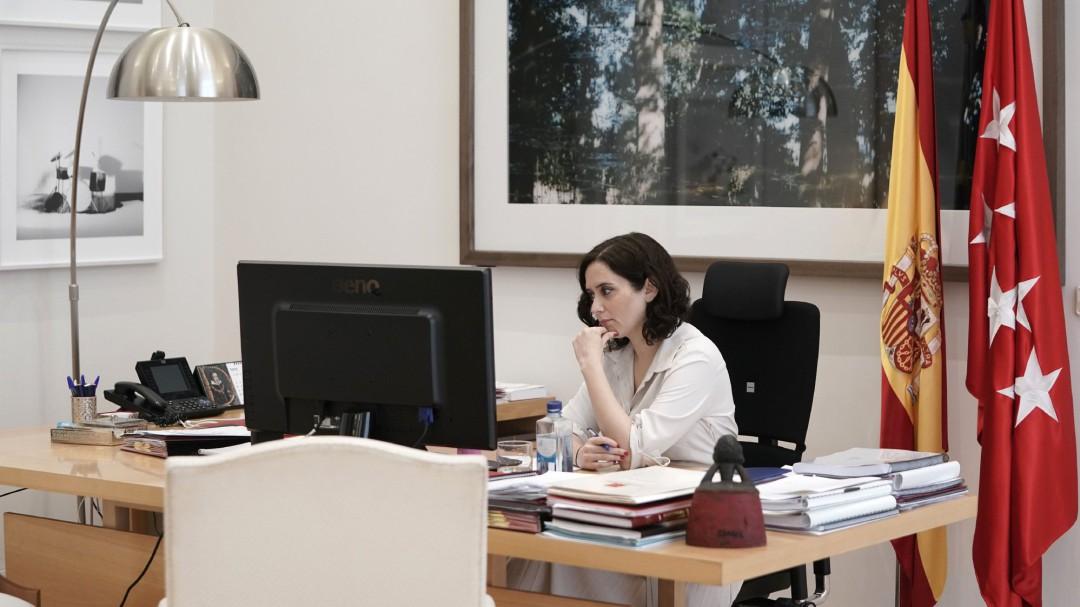 Las lagunas en la gestión de Díaz Ayuso en la crisis del coronavirus