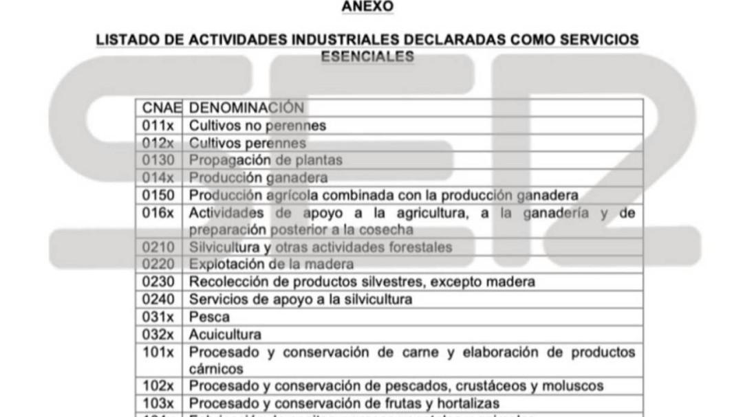 ¿Quiénes son los trabajadores de actividades esenciales?