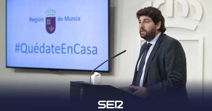 López Miras culpa al Gobierno Central de la falta de material sanitario