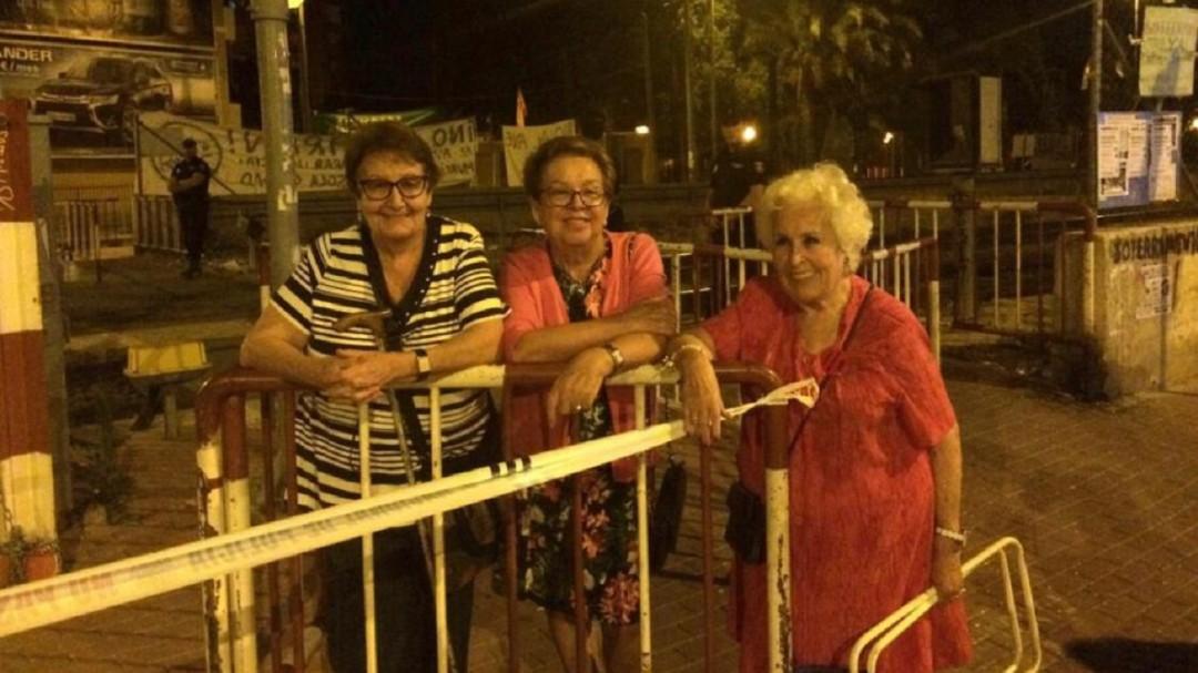 La abuela del Soterramiento sale de la UCI