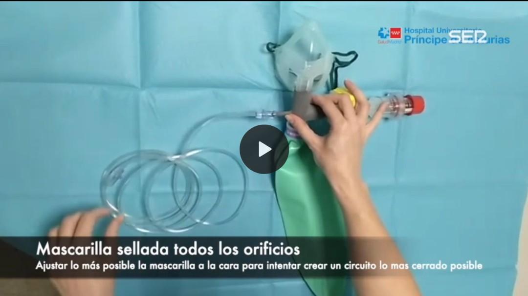 El prototipo de respirador que la Comunidad de Madrid no autoriza