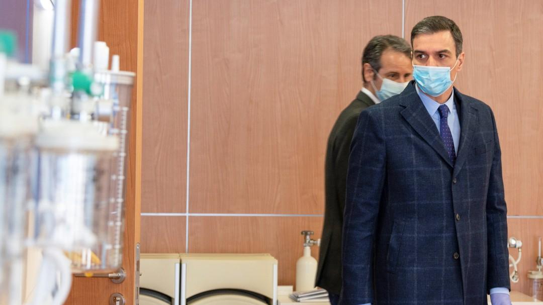 Sánchez pedirá al Congreso prorrogar el estado de alarma hasta el 26 de abril