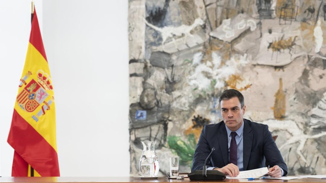 """Sánchez: """"Me someto a estos 15 días de prórroga, pero anuncio que vendrán más días del estado de alarma"""""""