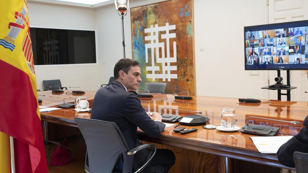 Sánchez planea separar a los casos positivos pero asintomáticos para evitar más contagios