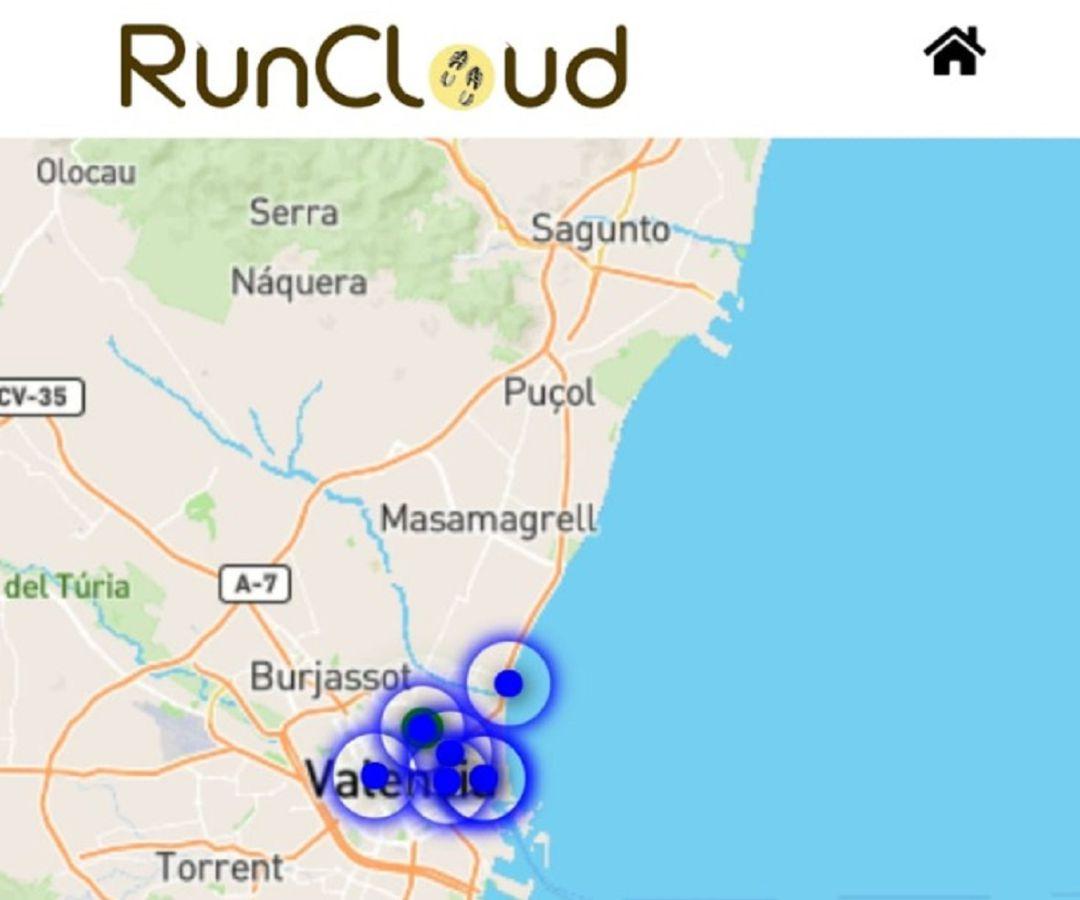 Mapa Zona Azul Valencia.Coronavirus Covid 19 La App Runcloud Disenada En La Upv Permite Ver Cuantos Deportistas Hay En Una Zona Y Evitar Aglomeraciones Radio Valencia Cadena Ser
