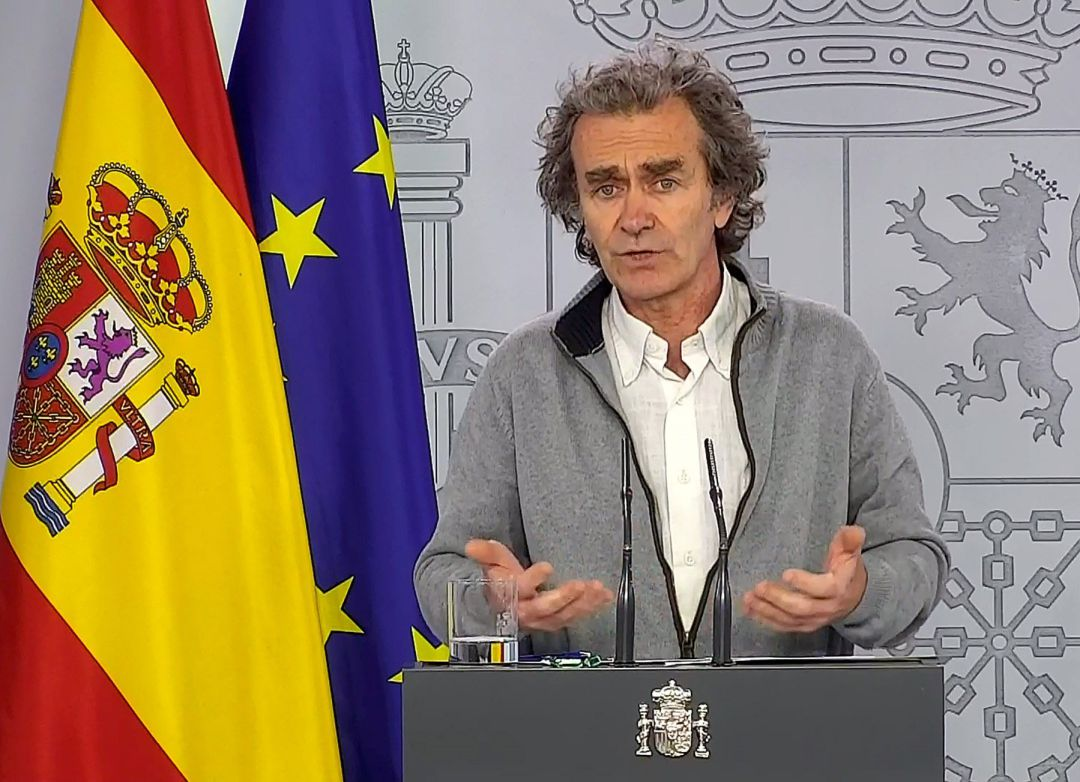 """Fernando Simón: """"Ahora mismo no me atrevería a decir que el clima ..."""