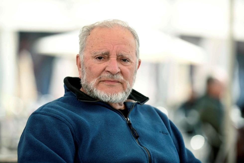 Una de las últimas imágenes del histórico líder de IU, que ha fallecido en la Unidad de Cuidados Intensivos (UCI) del Hospital Reina Sofía de Córdoba tras días ingresado por una parada cardiorrespiratoria.
