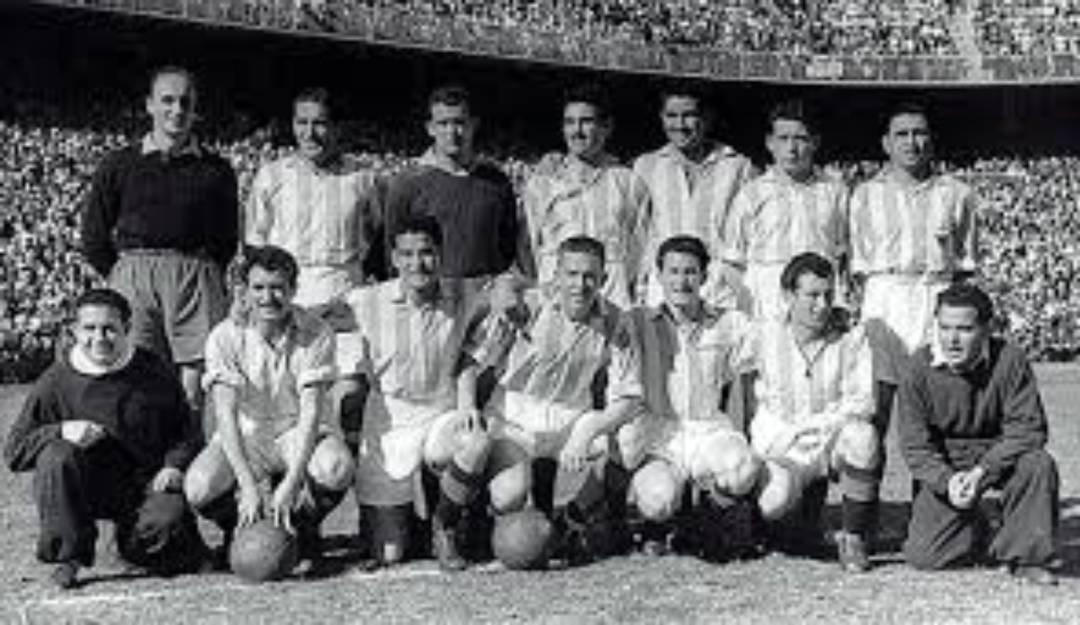 Once inicial del Real Valladolid en la Final de 1950