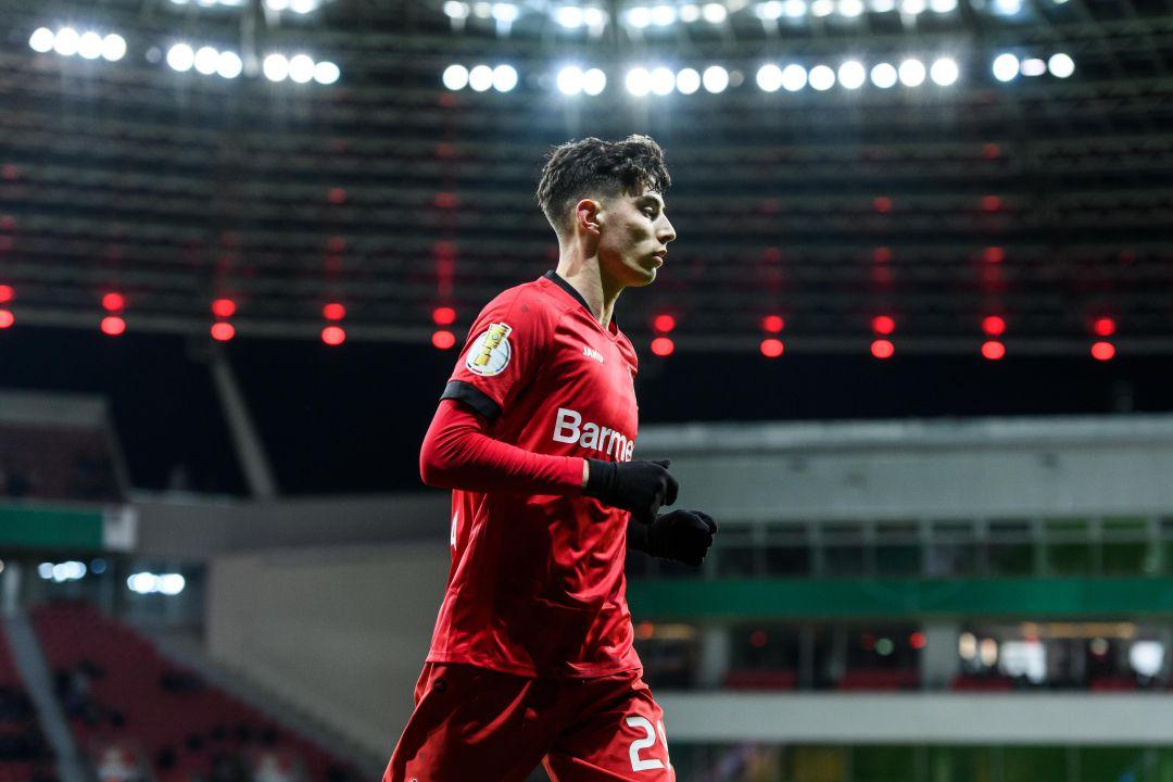 Kai Havertz se convierte en el jugador joven más goleador de la ...