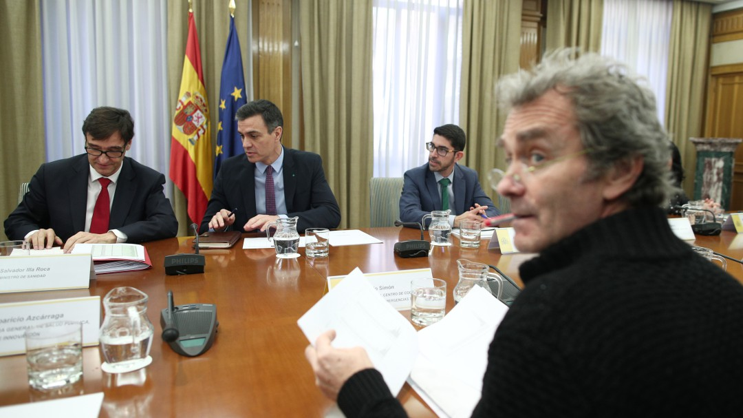 """El elogio público de Sánchez al trabajo de Illa y Simón: """"Nos hacen mejores como sociedad"""""""