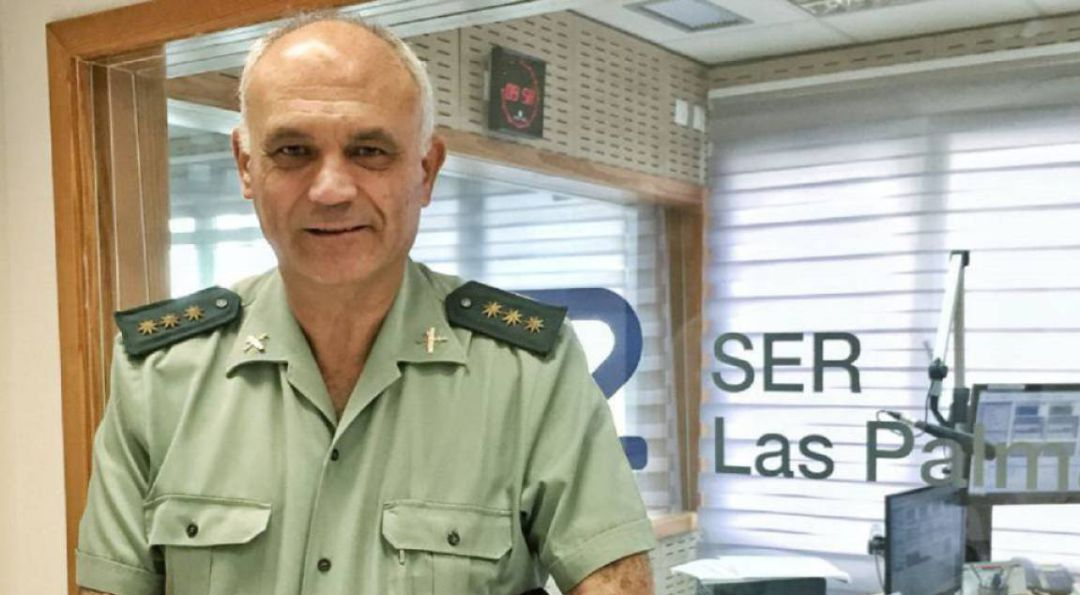 El coronel de la Guardia Civil Ricardo Arranz