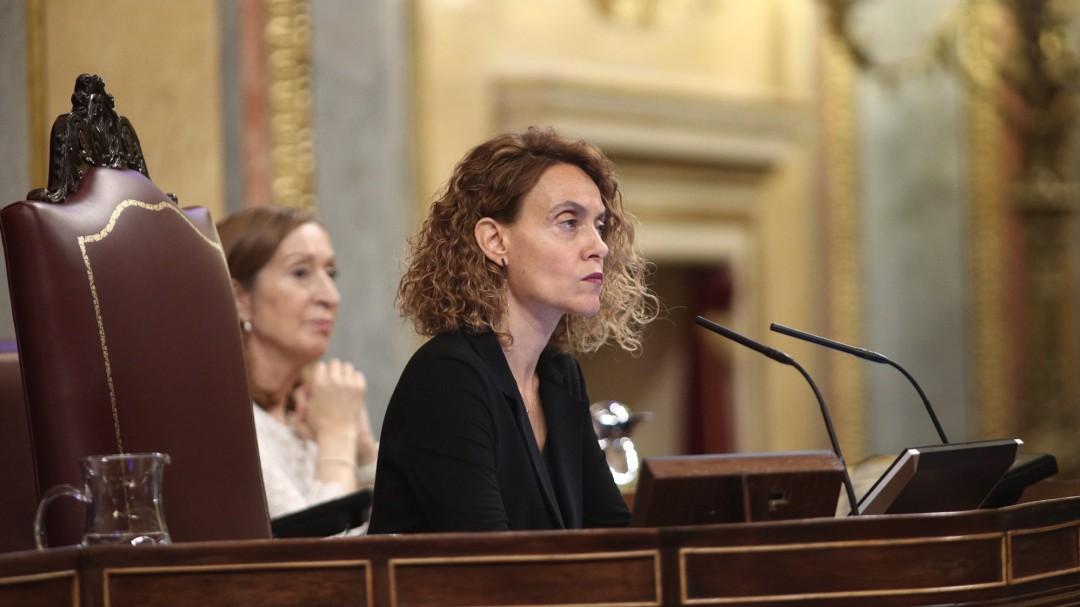 """Meritxell Batet: """"Las ideologías nos pueden separar pero debemos mantener el respeto"""""""
