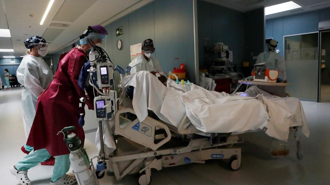 Aumentan un 24% las muertes en España en 2020 respecto al año anterior
