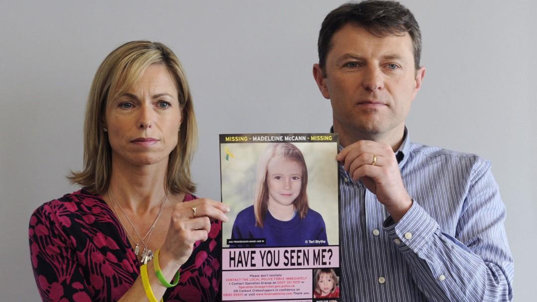 Investigan a un nuevo sospechoso por la desaparición de Madeleine McCann