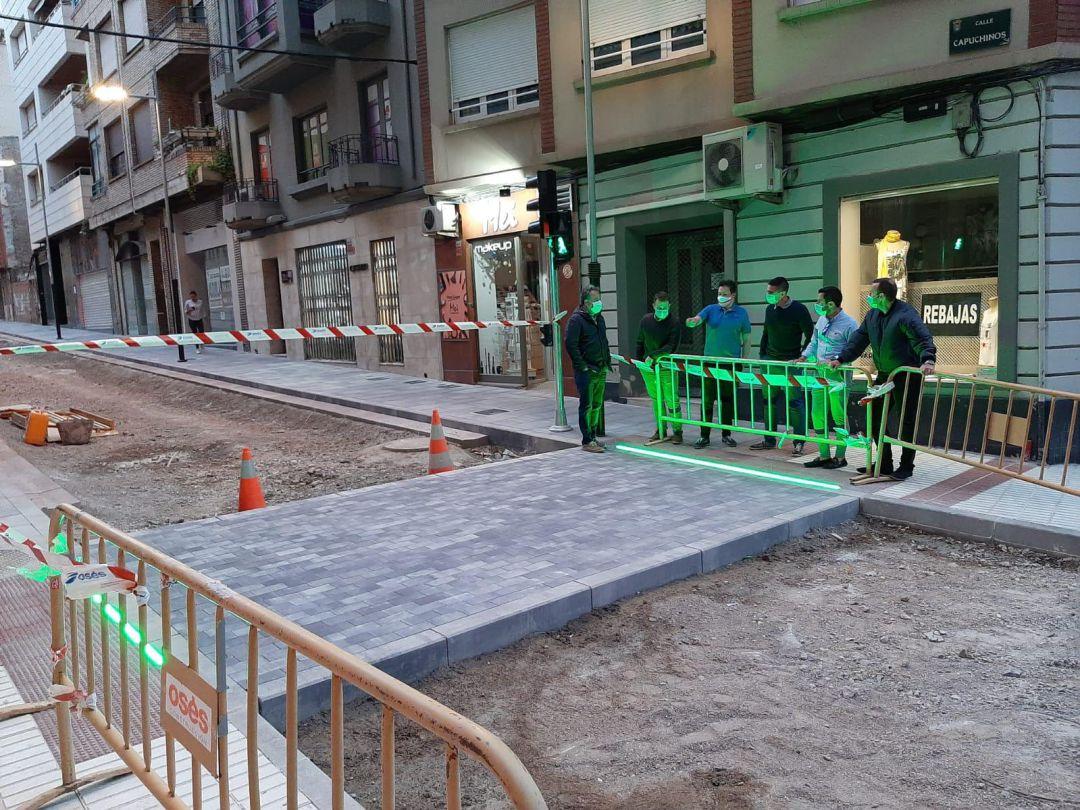Semáforo inteligente en calle Capuchinos