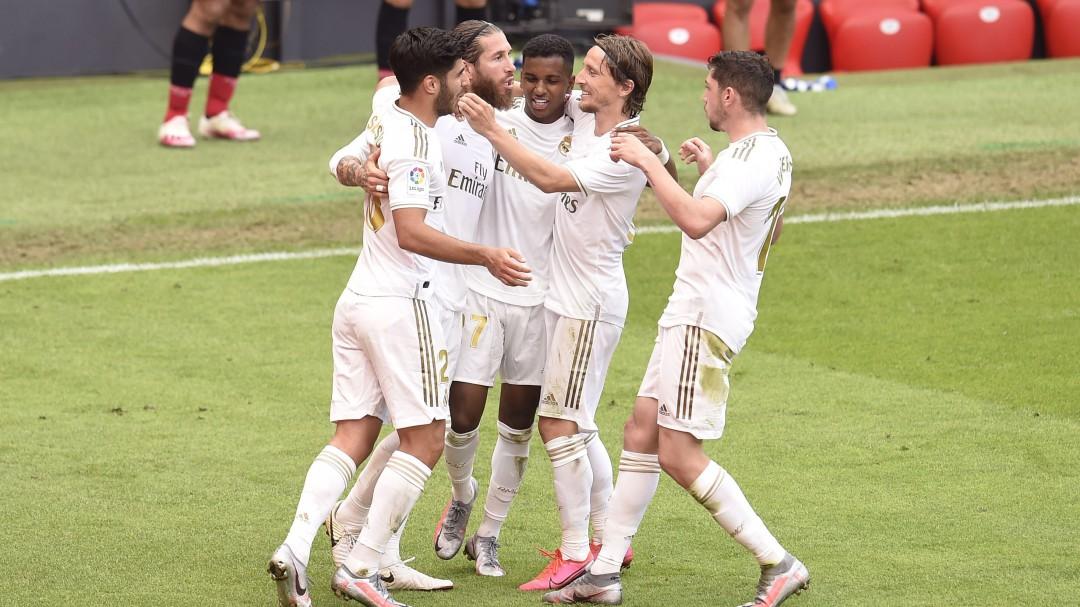 El Real Madrid se impone al Athletic y se mete LaLiga en el bolsillo