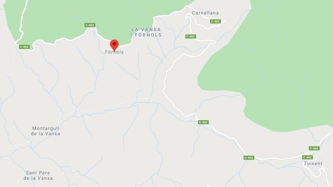 Mueren dos personas en un accidente de helicóptero cerca de la Seu d'Urgell