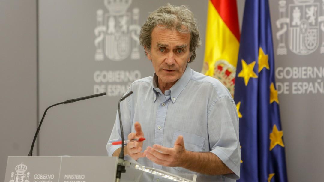 Fernando Simón reconoce los peores datos de contagios por coronavirus del último mes