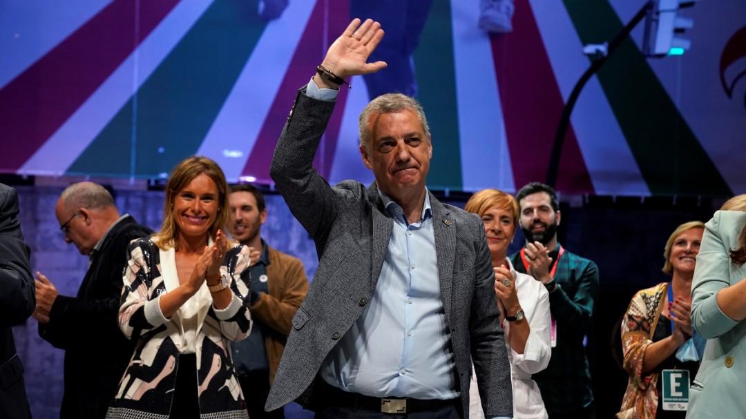 El PNV de Urkullu gana las elecciones en Euskadi y el PSOE tiene la llave del gobierno